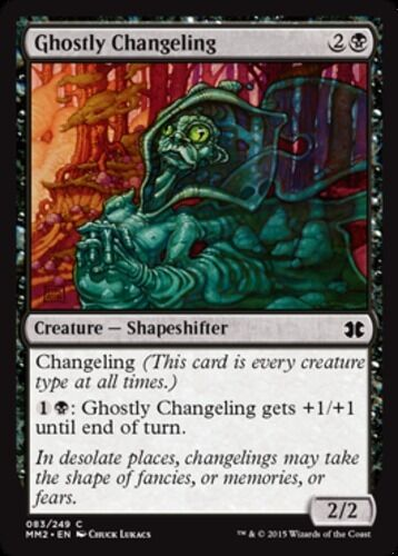 *CCGHouse* Magic Modern Masters 2015 MTG Ghostly Changeling X4 NM