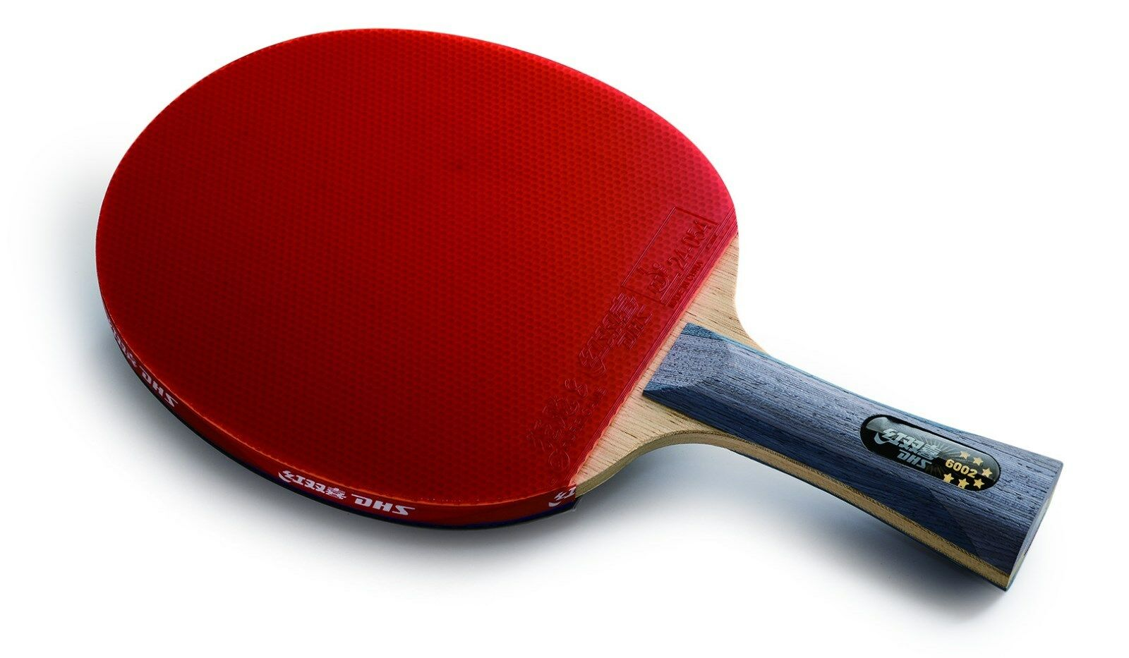 Genuine DHS R6002   R6006 Table Tennis Paddle w Case, New USD