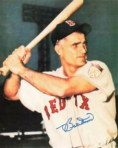 Bobby Doerr Red Sox Autograph 8x10 *763