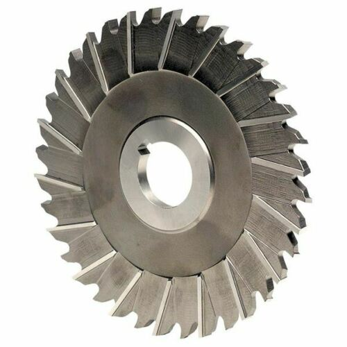 """Keo 07580 4/"""" x 1//8/"""" x 1/""""H HSS Staggered Side Tooth Metal Slitting Saw"""