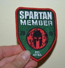 "Spartan Race Patch Member 2015 OCR Patch 3"" by 4"""