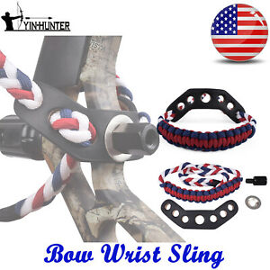 Archery-Bow-Wrist-Sling-Strap-Archery-Compound-Sling-In-American-Theme