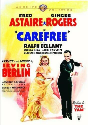 Carefree (1938 Fred Astaire) DVD NEW