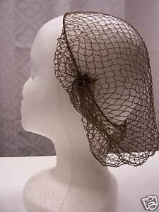 10-HAIR-NETs-AUTHENTIC-1860-DESIGN-Reenactor-Civil-War-VICTORIAN-Dress-WOMEN