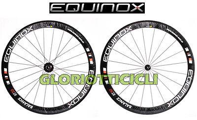 Obbediente Equinox Ruote Corsa Carbonio Balance Rt50 Tubolare X Campagnolo Ultima Moda