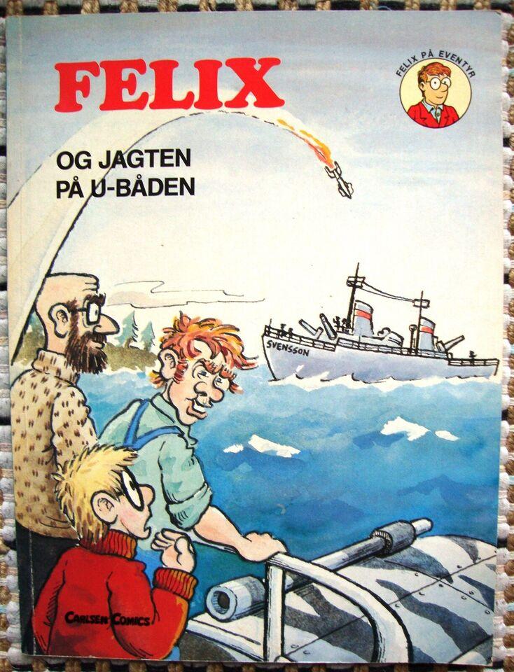 Felix på eventyr 9, Felix og jagten på u-båden, Tegneserie
