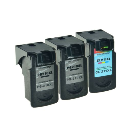 PG-210XL CL-211XL Ink Cartirdge for Canon PIXMA iP2702 MP499 MP250 MP240 MX350