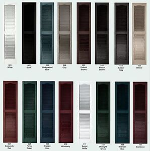 COLOR SAMPLES for Raised Panel, Louver, Board-N-Batten Exterior ...