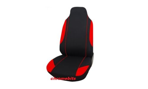 Seat Covers Set VW Transporter T4 1992-2004 2+1 Red-Black Soft /& Comfort Fabric