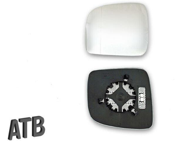 Spiegelglas Asphärisch Beheizbar Links für VW T5 Multivan V Caddy III 3 Neu