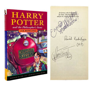 SIGNED Harry Potter Philosopher's Stone – FIRST EDITION – 4th Print – ROWLING