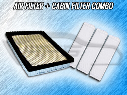 AIR FILTER CABIN FILTER COMBO FOR 1998 1999 2000 2001 2002 2003 CADILLAC SEVILLE