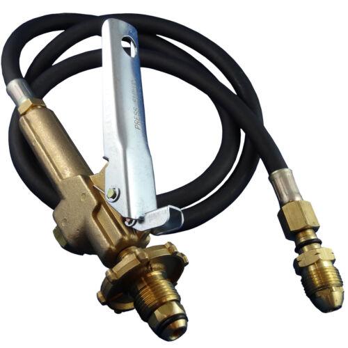 LPG Filler//Decanting Gun /& Hose with Fork lift Cylinder adapter