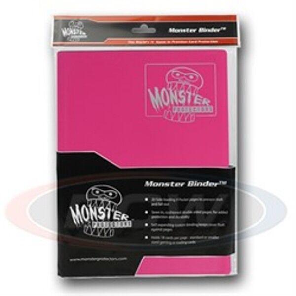 Monster Album Binder 9 Pocket Matte Pink With 20