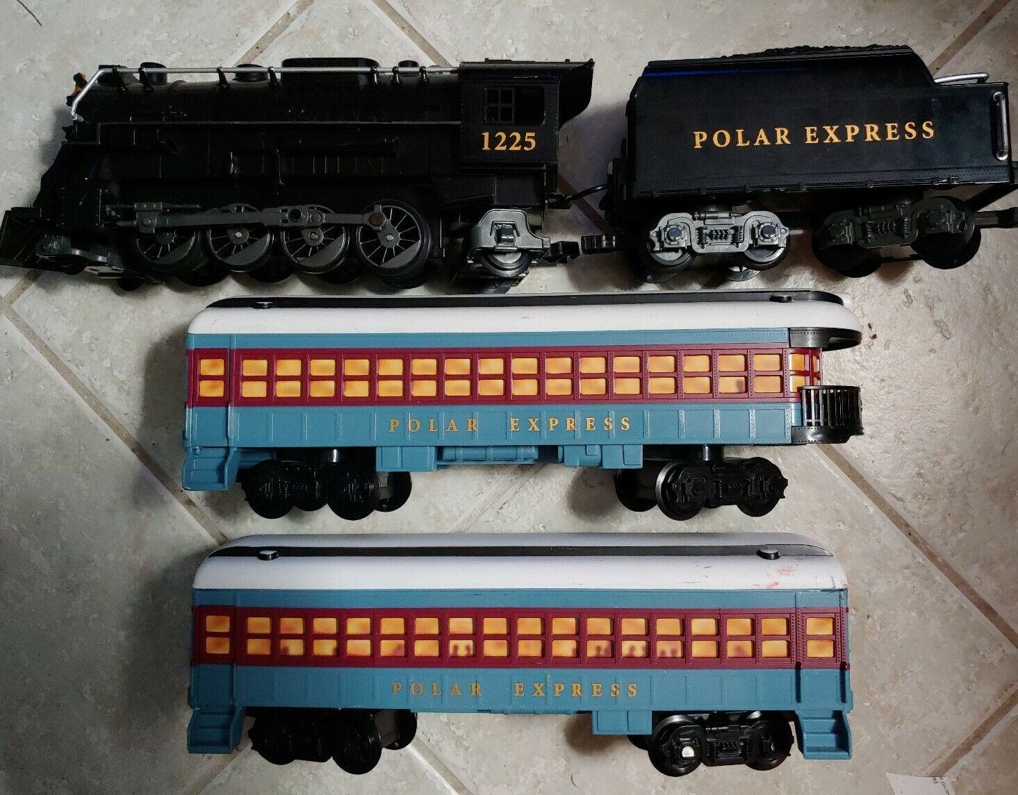 Lionel il Polar Express G Treno Gauge Set