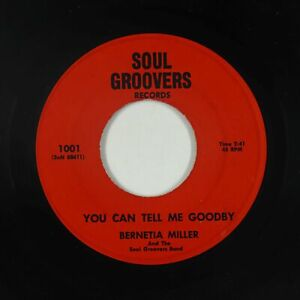 Crossover/Sweet Soul 45 - Bernetia Miller - You Can Tell Me Goodby - mp3 - rare!