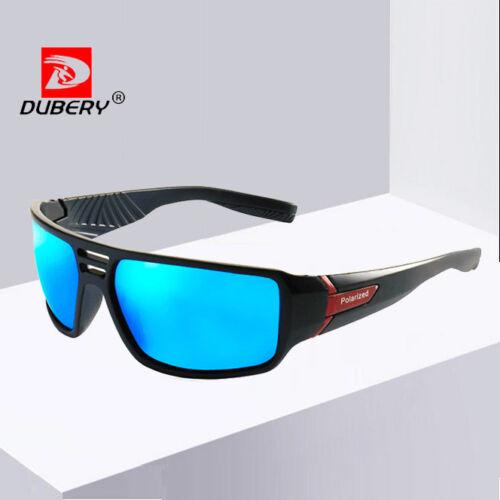DUBERY Men Polarized Sport Sunglasses Ourdoor Driving Fishing Glasses New 2019