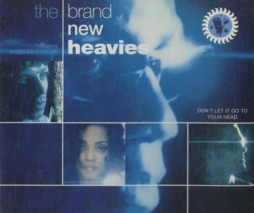Brand New Heavies Don't let it go to your head (1992)  [Maxi-CD]