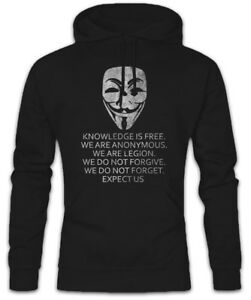Is Sweatshirt Fawkes Anonymous Guy Hoodie Computer Knowledge Science Are We Free dqPtdA