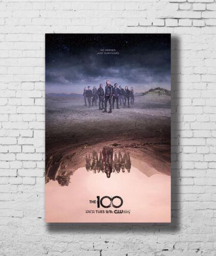 24x36 14x21 40 Poster The 100 Season 5 TV Series Art Hot P-3422