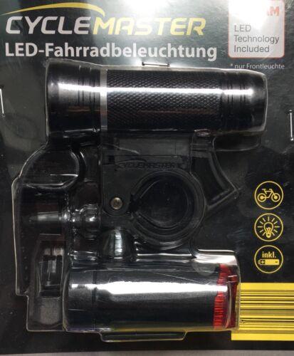 Queue Lumière Vélo Lampe Neuf Cyclemaster DEL Vélo Éclairage Lampe Front