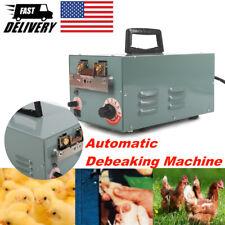 Automatic Electric Chicken Debeaking Machine Chick Beak Cutting Shears Removing