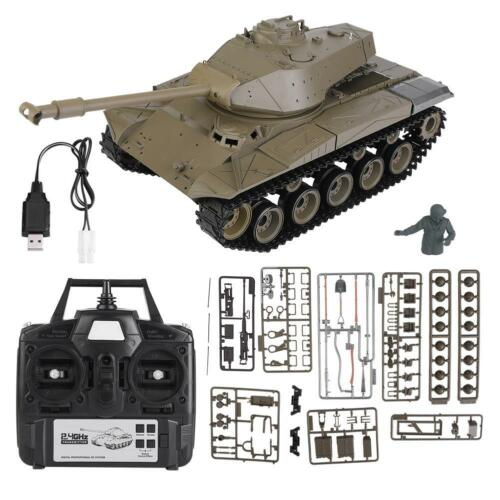 Heng Long 1//16 2.4Ghz 3839-1 German M41A3 Snow Leopard Battle Tank RC Model Tank