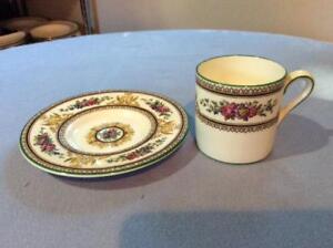 Wedgwood-Columbia-white-enamel-bone-china-demitasse-cup-and-saucer-W595