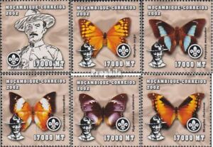 Animal Kingdom Mozambique 2458-2463 Unmounted Mint Never Hinged 2002 World Jamboree Promote The Production Of Body Fluid And Saliva