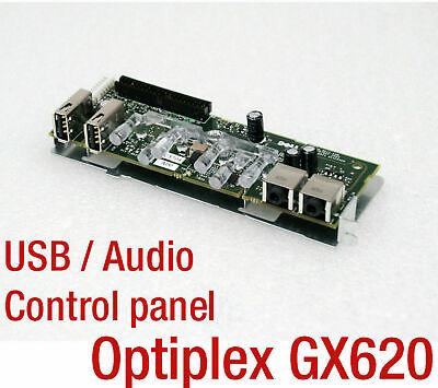 Dell Optiplex I/o Control Audiopanel Panel Board Gx620 4xusb Audio Out C5708 New- Con Le Attrezzature E Le Tecniche Più Aggiornate