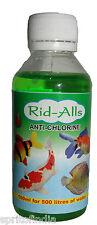 Hi quality water aquarium fish Rid alls Anti Chlorine 100 ML medicine ridall