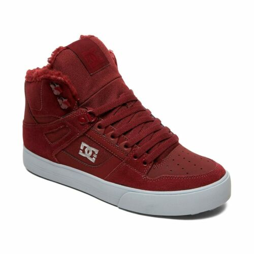 DC Shoes Pure High Top WC WNT Burgundy