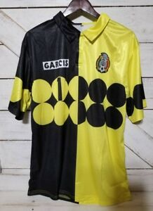 f78d3843107 Image is loading Mexico-Retro-Jorge-Campos-1-Goalkeeper-Jersey-Size-