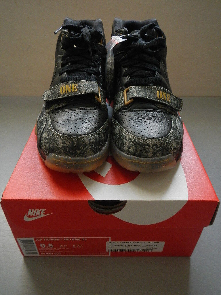 Nike Air Trainer 1 MID PRM QS PAID IN FULL 607081 002 US9,5