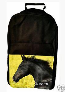 ad952dbe14 Sac à dos cheval personnalisé avec prénom réf 83 | eBay