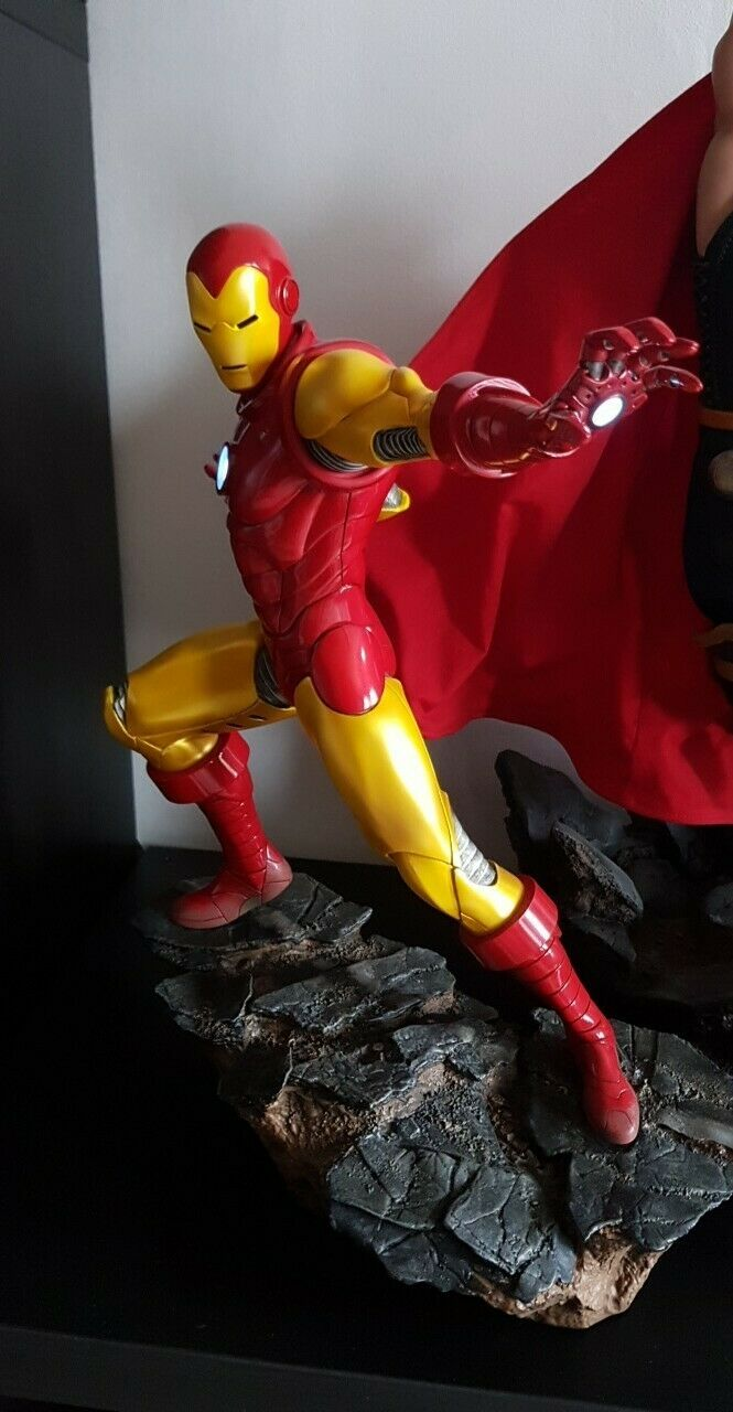 IronMan Avengers Assemble 1 5 sideshow collectibles