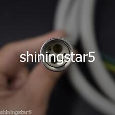 5 Pcs Dental High Speed Fiber Optic LED Handpiece Tube Silicone Hose 6 Holes