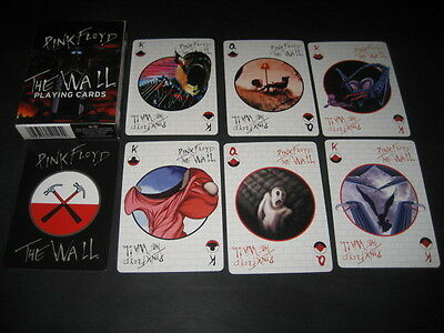 """Baraja Poker. PINK FLOYD """"The Wall"""". Paying cards"""