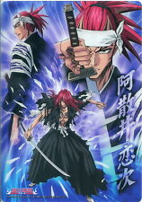 BLEACH mini Shitajiki Pencil Board mousepad - Abarai Renji - RARE