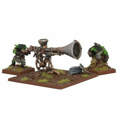 2019 Ultimo Disegno Goblin War Trombone - Kings Of War - Mantic Games - Prima Classe
