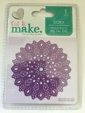 cut and make die doily bethany