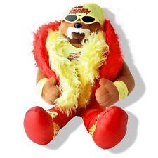 Hulk Hogan Plush Teddy Bear, Stuffed WWE Wrestling WWF WCW NWO Hulkamania
