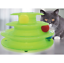 Funny-Pet-Cat-Crazy-Ball-Disk-Interactive-Toys-Amusement-Plate-Trilaminar-Toy Indexbild 8