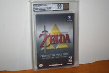 Legend of Zelda Collector's Edition (Gamecube) NEW SEALED, MINT GOLD VGA 90 RARE