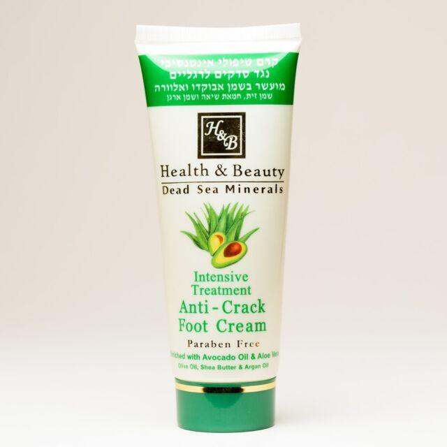 Foot Cream Dead Sea Minerals Anti-Crack Treatment 100ml/3.4fl.oz Spa Skin Feet