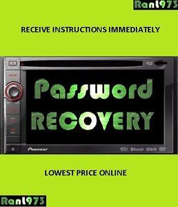 pioneer password removal avic x920bt avic x930bt avic x9310bt avic rh ebay com Pioneer AVIC- Z150BH Bypass pioneer avic-x9310bt manual