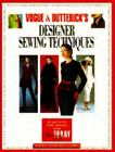 Vogue and Butterick's Designer Sewing by Nancy Fleming (1994, Board Book)