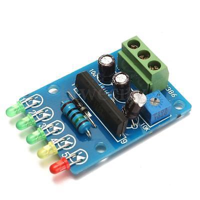 DC 5V-12V FR4 Audio Level Indicator 5-LED VU Meter Power Meter Level Indicating