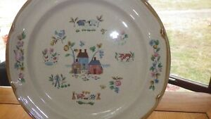 "International China Heartland 12"" round chop plate platter EUC mpn 7774 Japan"