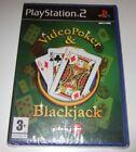 Video Poker & Blackjack Sony PlayStation 2 Ps2 PAL Complete